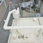 定水位弁交換:保温工事